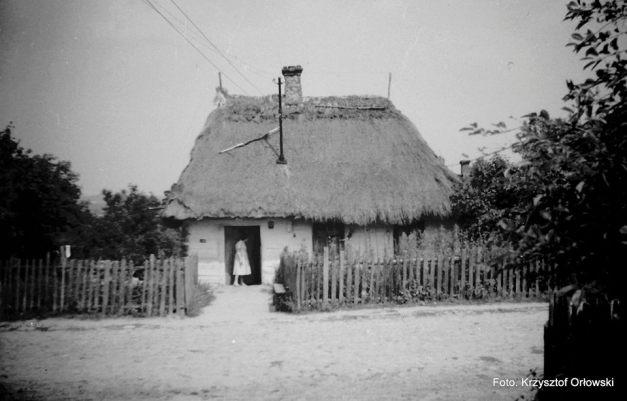Dom Jodłowskich w Mierzwicach rok 1961