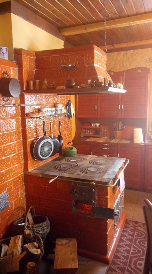 Kaflarnia Stara Kuchnia Podlaska Chata Fajerki Cztery Wsi