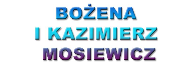 mosiewicz bozena i kazimierz
